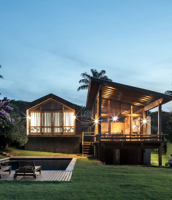 Casa do Lago в Бразилия от Solo Arquitetos