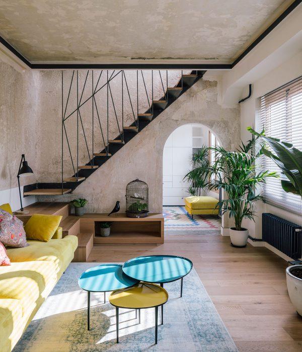 Жилище в кула в Мадрид от Idoia Otegui Arquitectura