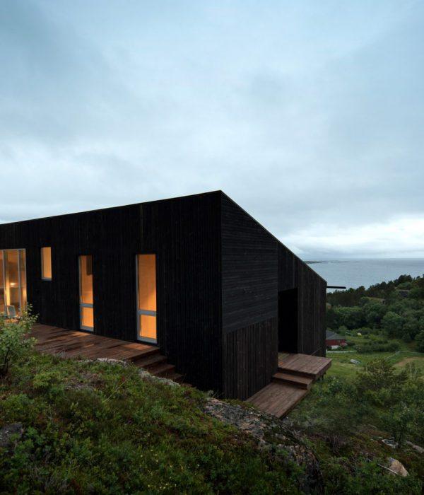 Къща на остров Стокя, Норвегия от Kappland Arkitekter