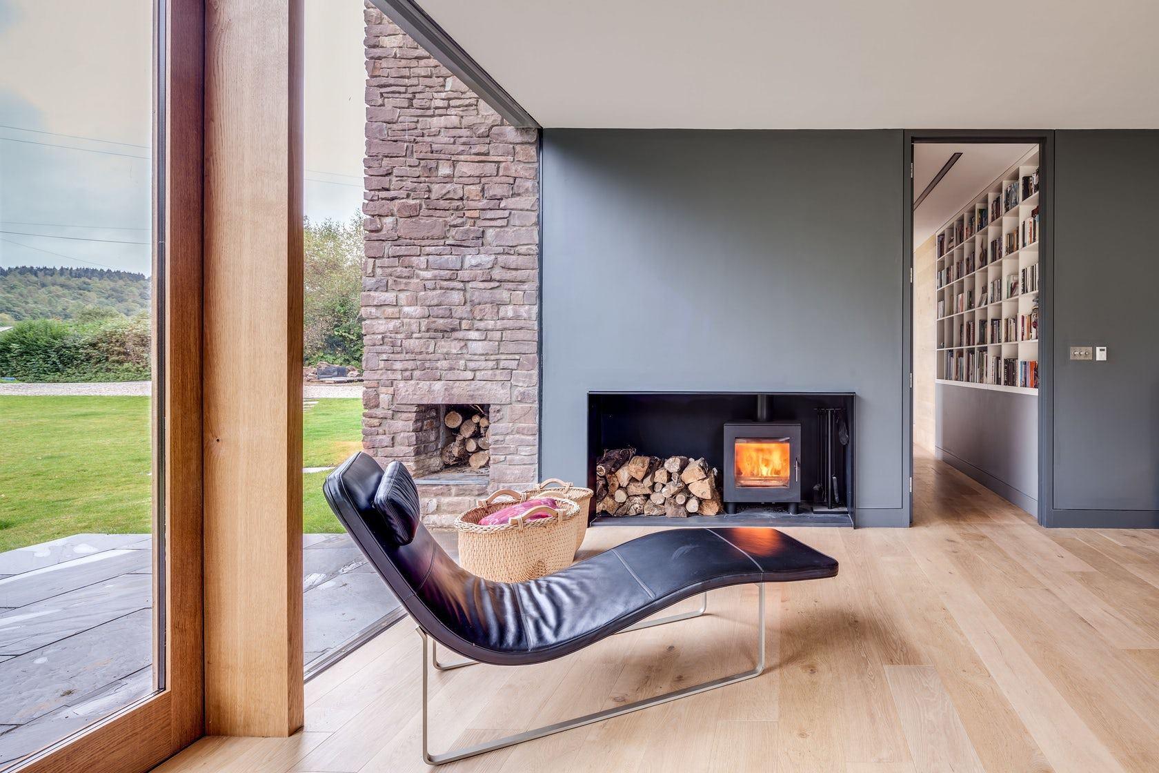 Еднофамилна къща в Уелс от Hall + Bednarczyk Architects