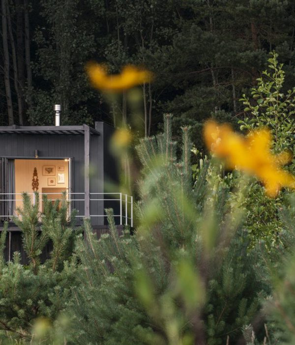Къща за двама в Литва от Utopium