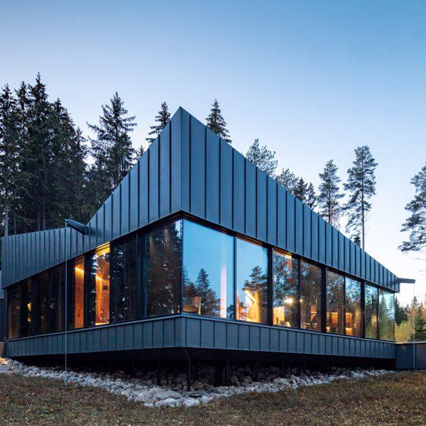 3-square House край езерото Саимаа във Финландия от Puisto Studio